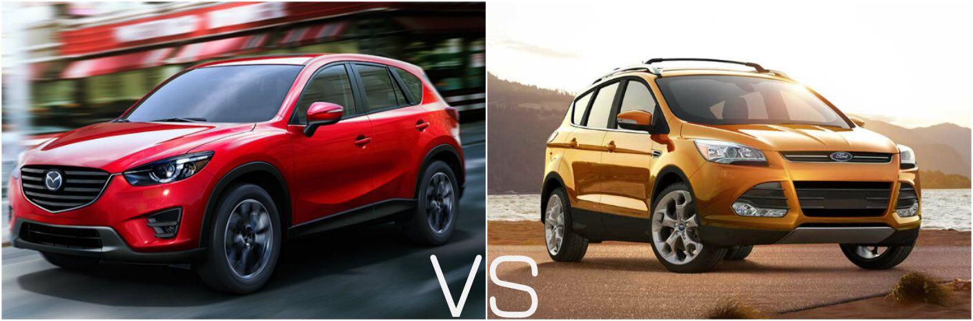 2016 Mazda CX-5 vs 2016 Ford Escape