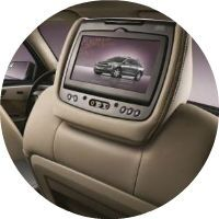 2016 Chevy Traverse rear seat entertainment head rests
