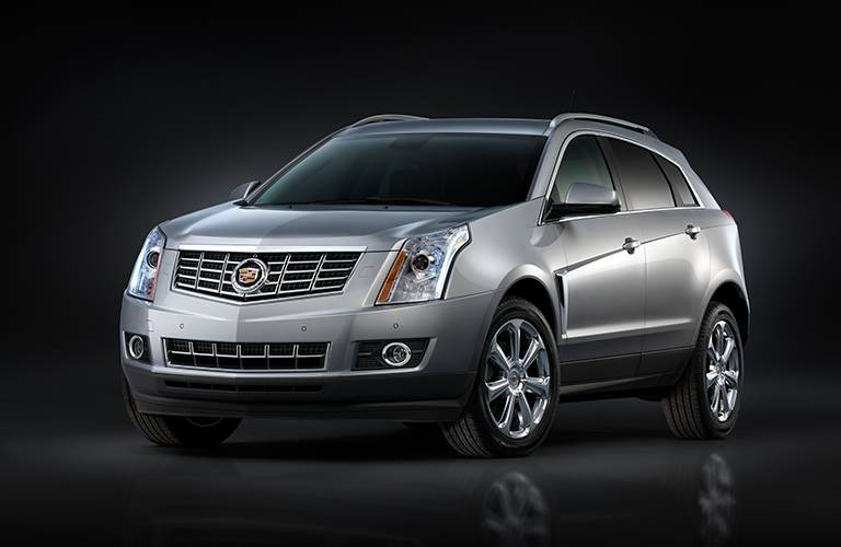 Luxury Cadillac SRX crossover with comfortable handling