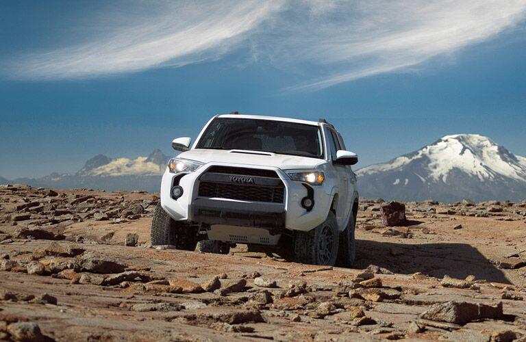 Super White 2016 Toyota 4Runner TRD Pro Front Exterior