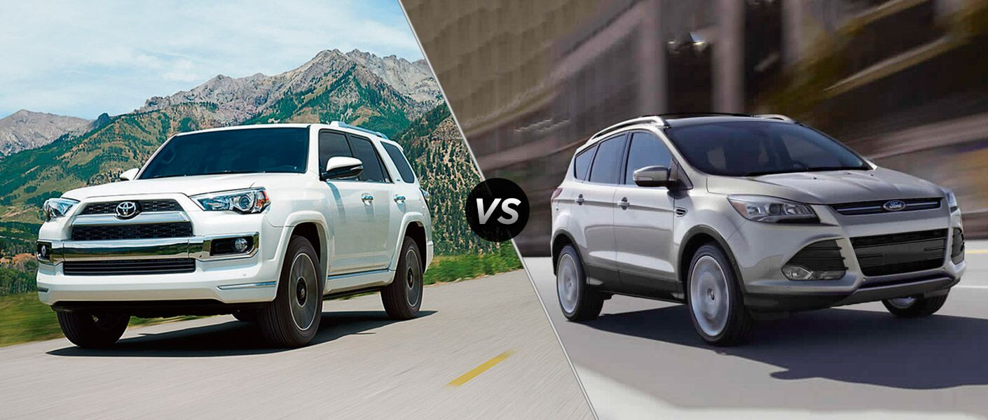 2016 Toyota 4Runner vs 2016 Ford Escape