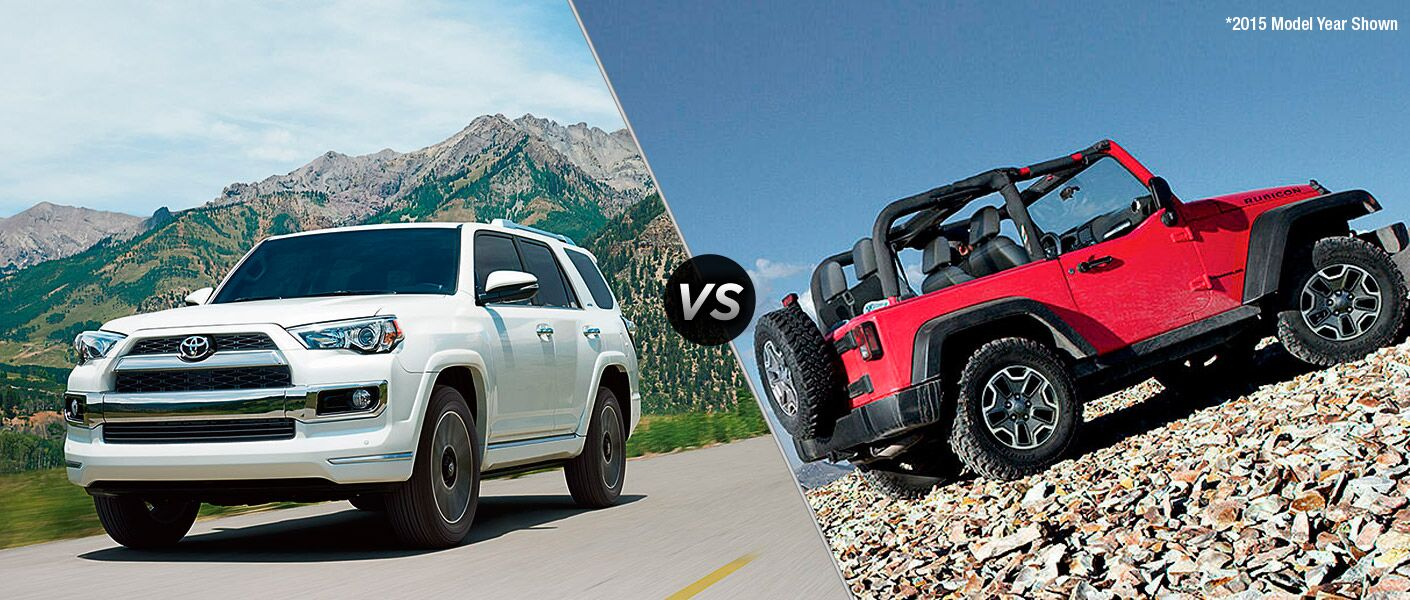2016 Toyota 4Runner vs 2016 Jeep Wrangler