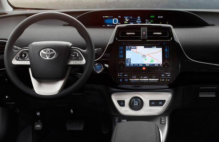 2016 Toyota Prius Interior Dashboard with Toyota Entune