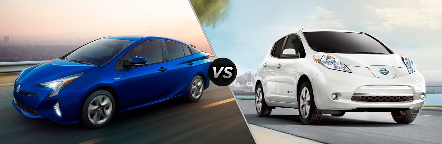 2016 Toyota Prius vs 2016 Nissan Leaf