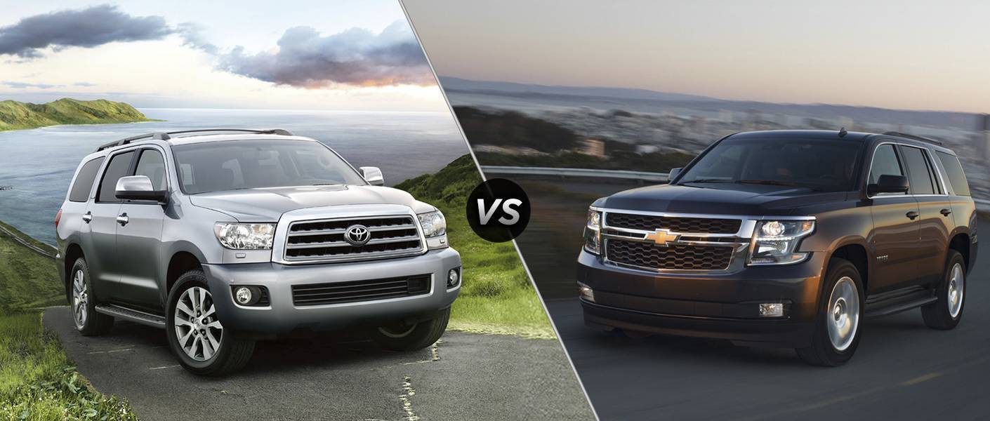 2016 Toyota Sequoia Vs 2016 Chevy Tahoe