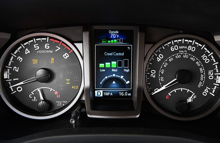 2016 Toyota Tacoma Crawl Control Info Display