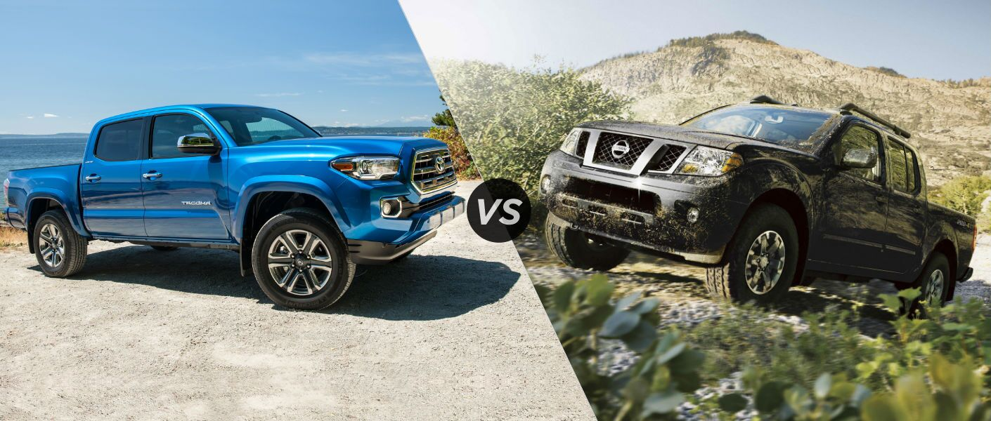 2016 Toyota Tacoma Vs 2016 Nissan Frontier At J. Pauley Toyota