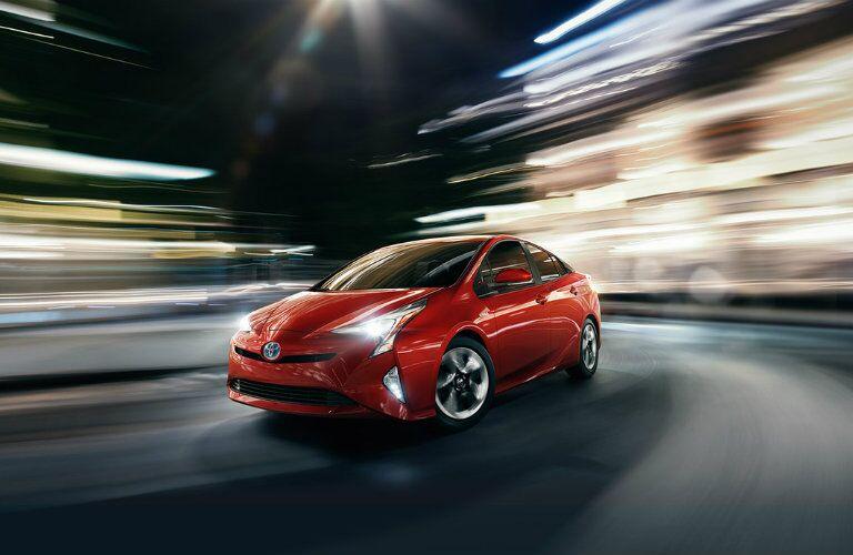 Red 2016 Toyota Prius Exterior