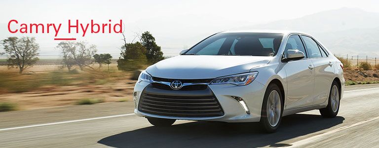 You May Also Like the 2016 Toyota Camry Hybrid
