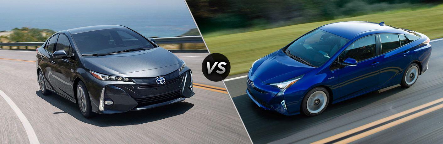 2017 Toyota Prius Prime vs 2017 Toyota Prius