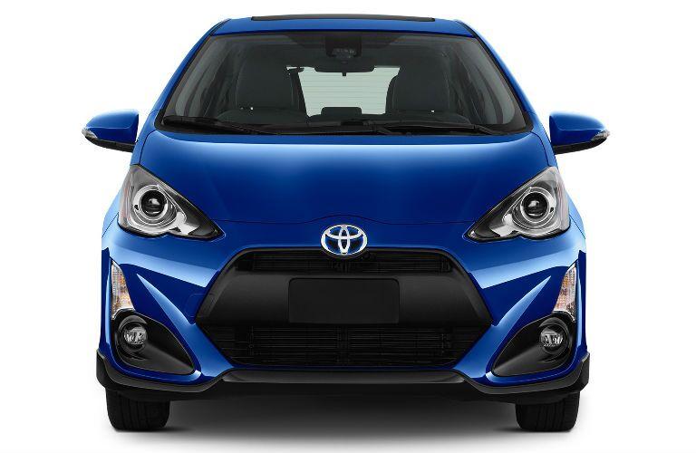 Blue 2017 Toyota Prius c Front Exterior