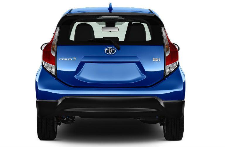 Blue 2017 Toyota Prius c Rear Exterior