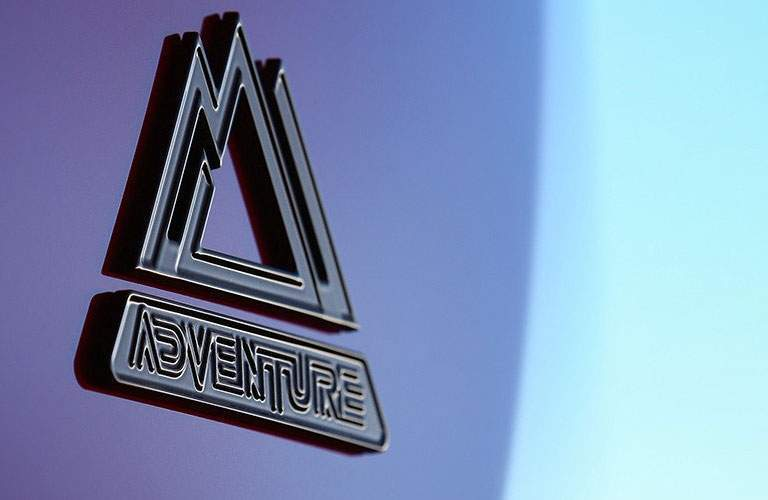 Close Up of 2018 Toyota RAV4 Adventure Badge