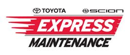Toyota Express Maintenance in J. Pauley Toyota