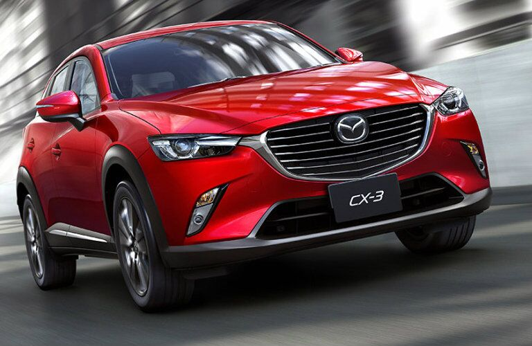 2016 Mazda CX-3 in red
