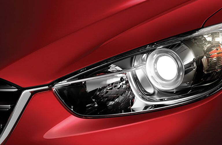 Headlight of 2016 Mazda CX-5