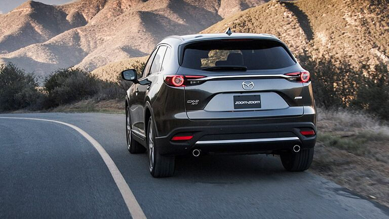 2016 Mazda CX-9 on the highway