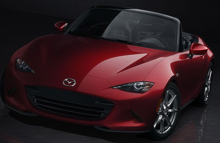 Red 2016 Mazda MX-5 Miata