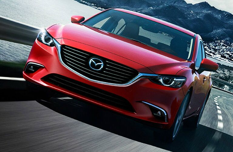2016 Mazda6 on the highway
