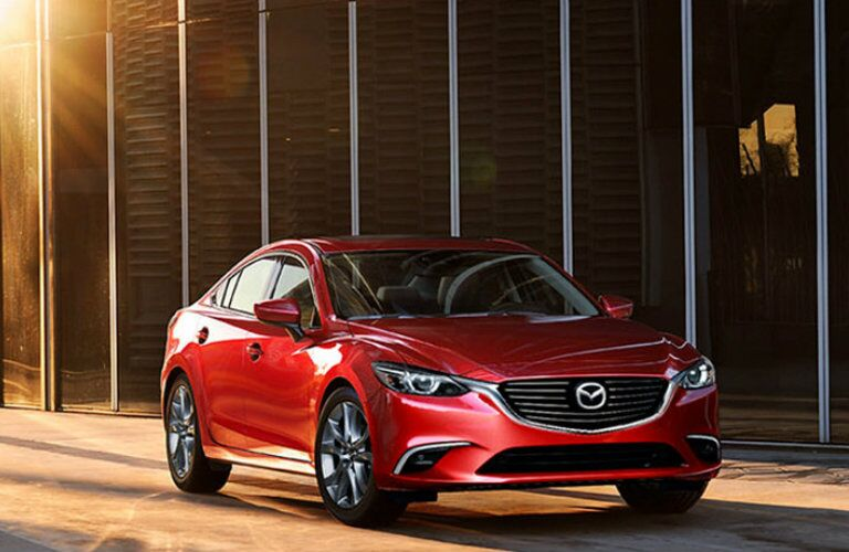 Front profile of 2017 Mazda6 Grand Touring