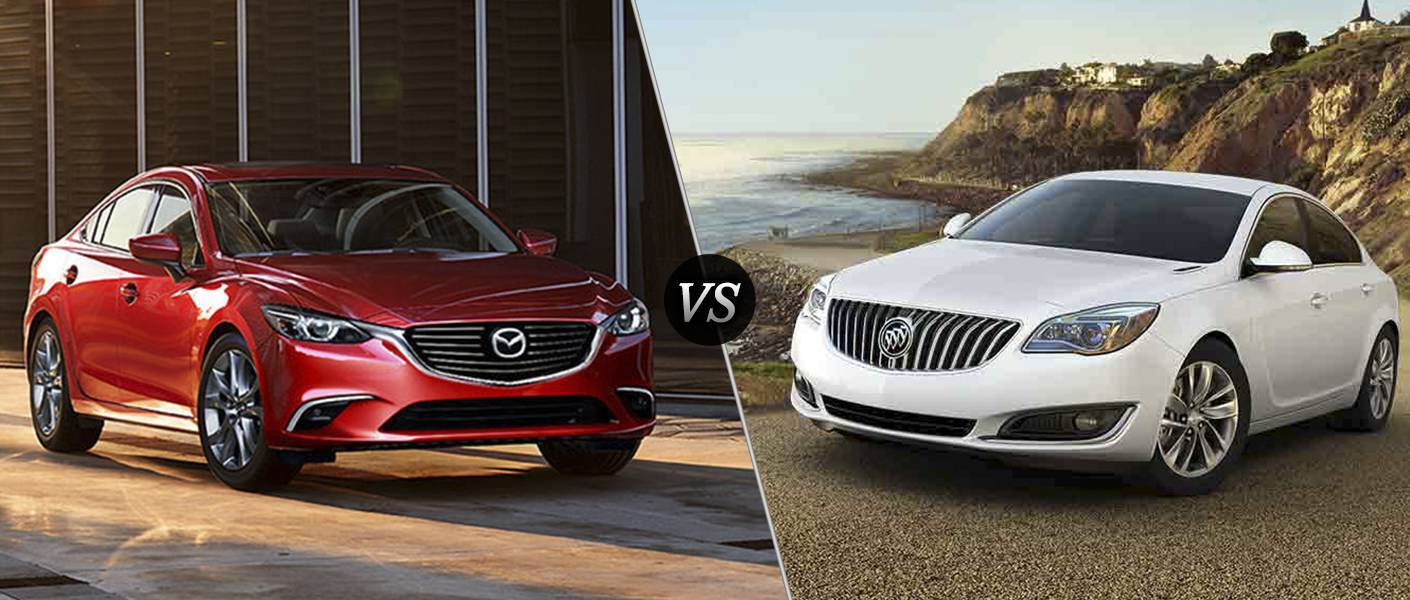 2016 Mazda6 vs 2016 Buick Regal