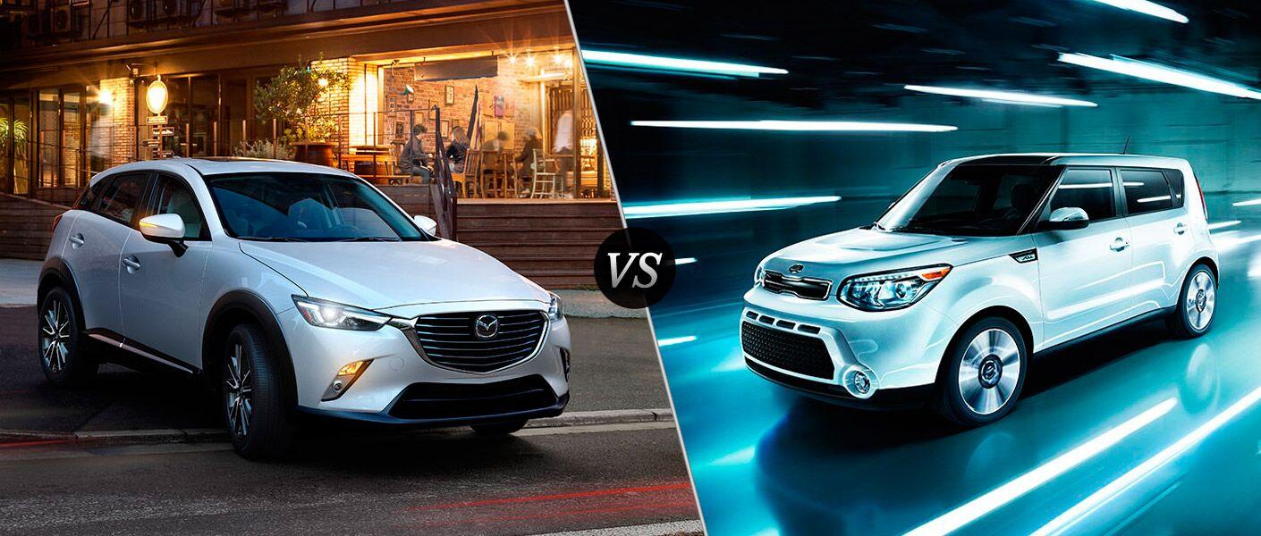 2016 Mazda CX-3 vs 2016 Kia Soul