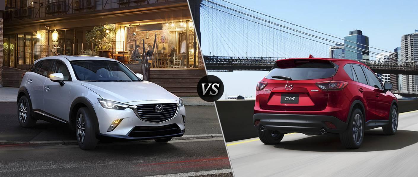 2016 Mazda CX-3 vs 2016 Mazda CX-5