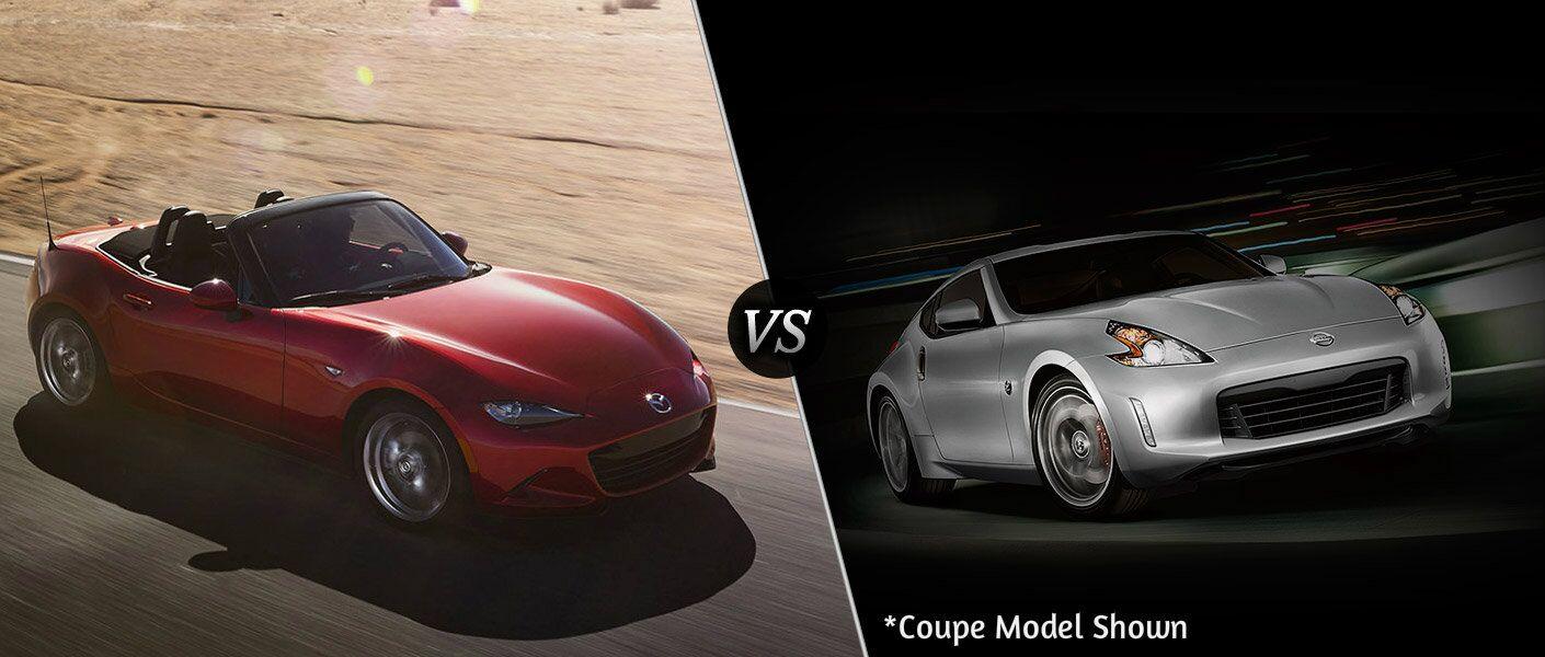 2016 Mazda MX-5 Miata vs 2016 Nissan 370Z