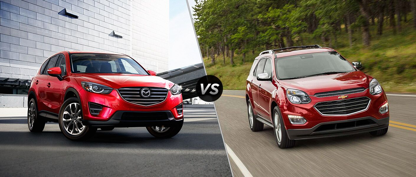 2016 Mazda CX-5 vs 2016 Chevrolet Equinox