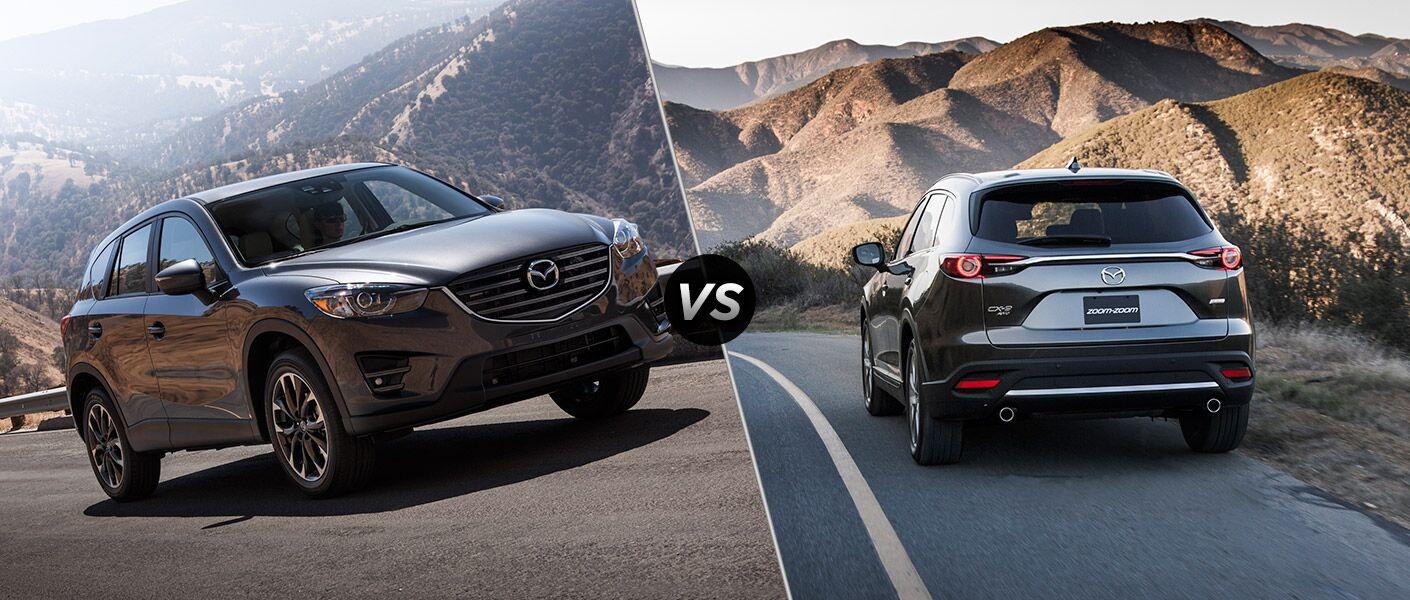 2016 Mazda CX-5 vs 2016 Mazda CX-9