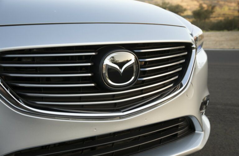 Front grille of 2017 Mazda6 Grand Touring