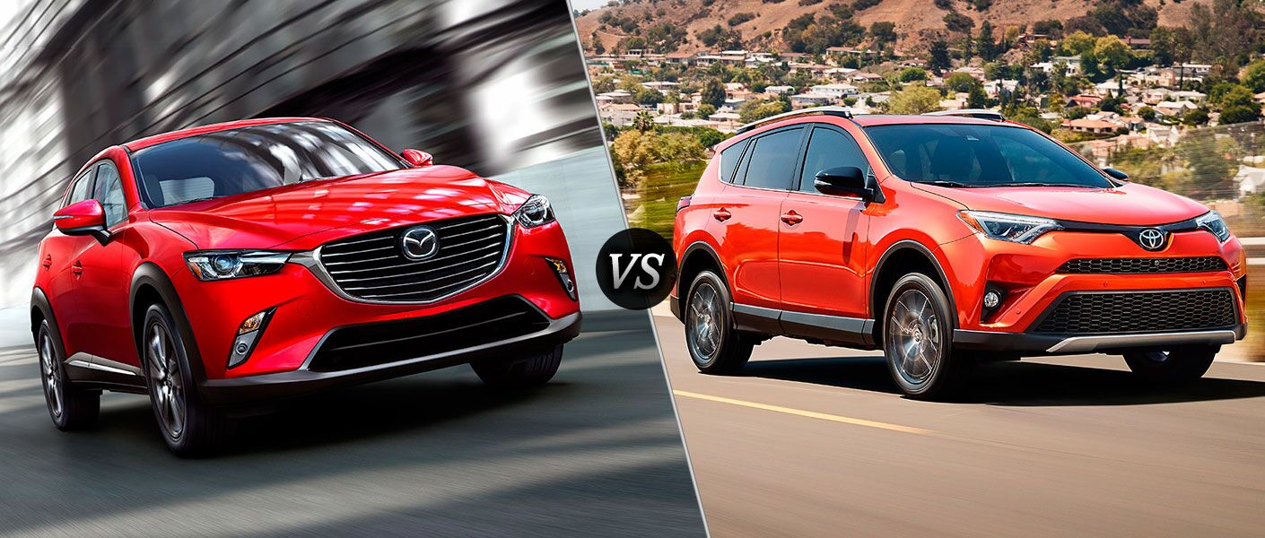 2016 Mazda CX-3 vs 2016 Toyota RAV4