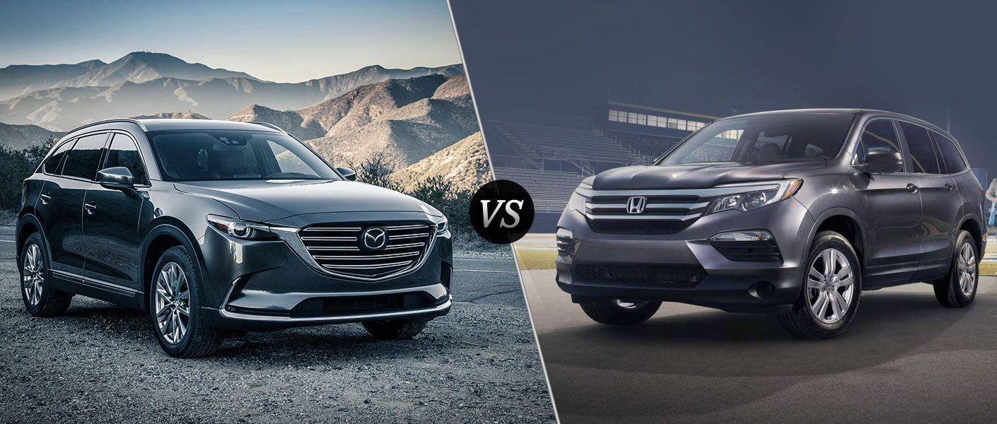 2016 Mazda CX-9 vs 2016 Honda Pilot