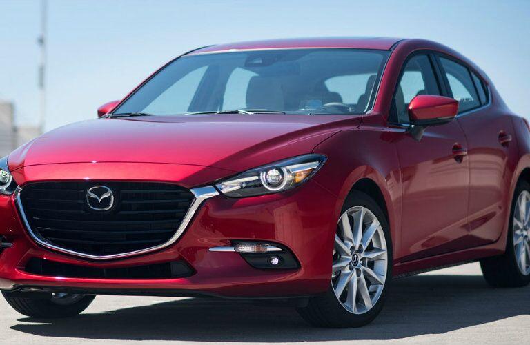 2017 Mazda3 hatchback exterior profile