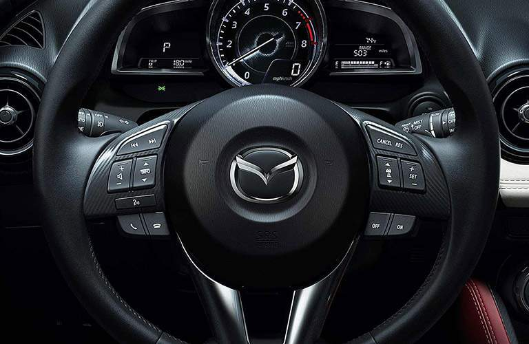 2017 Mazda CX-3 steering wheel