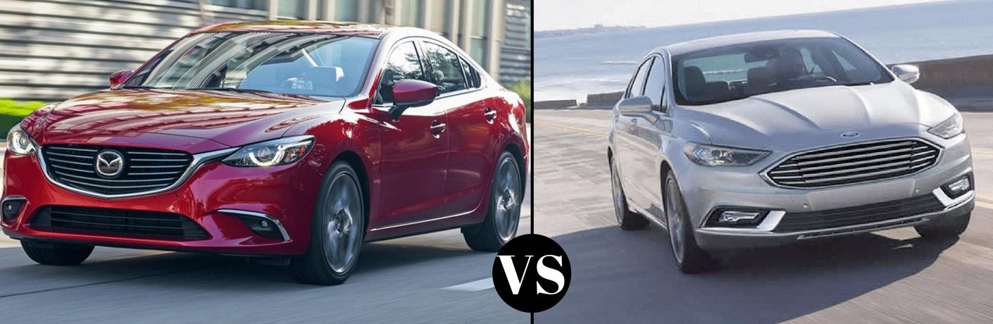 2017 Mazda6 vs 2017 Ford Fusion