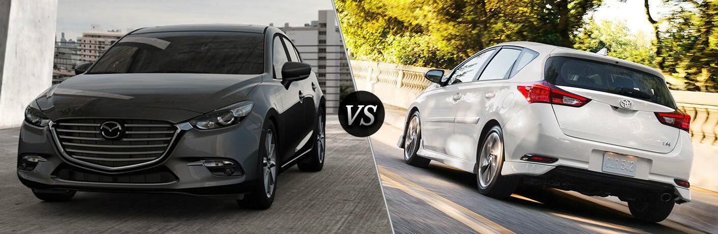 2017 Mazda3 Hatchback vs 2017 Toyota Corolla iM