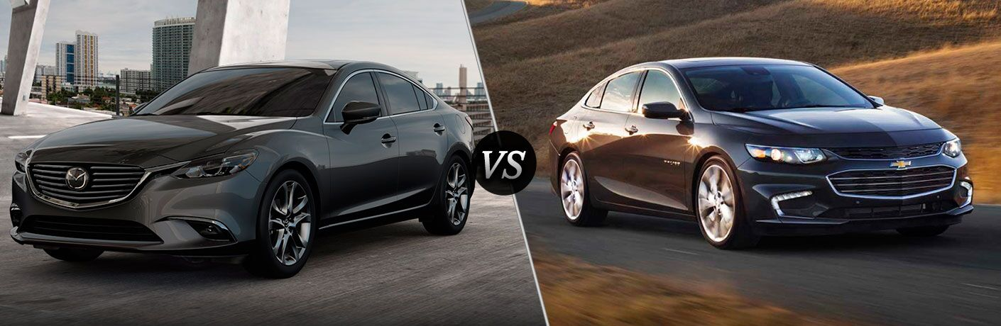 2017 Mazda6 vs 2017 Chevy Malibu