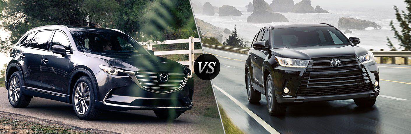 2017 Mazda CX-9 vs 2017 Toyota Highlander