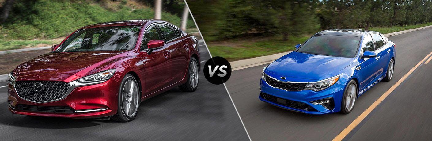 2019 Mazda6 vs 2019 Kia Optima