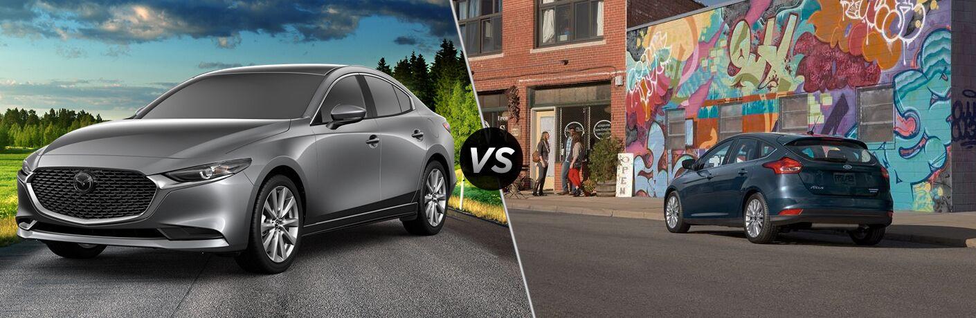 2019 Mazda3 vs 2018 Ford Focus