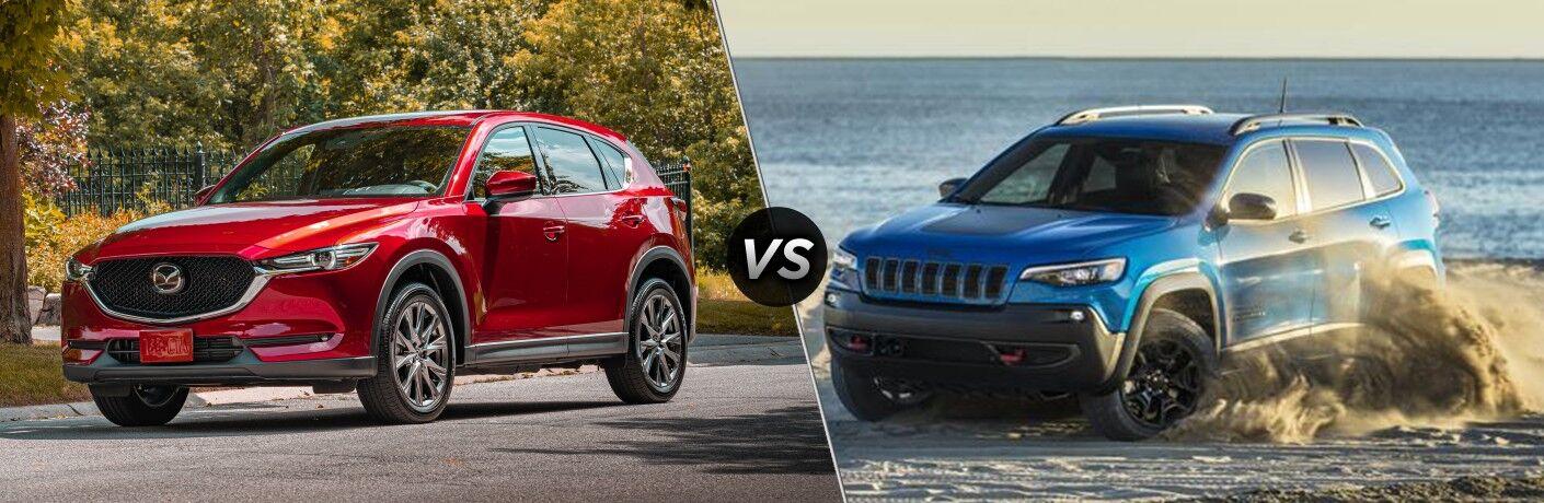 2020 Mazda CX-5 vs 2020 Jeep Cherokee
