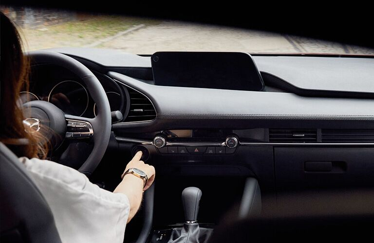 2020 Mazda3 front interior