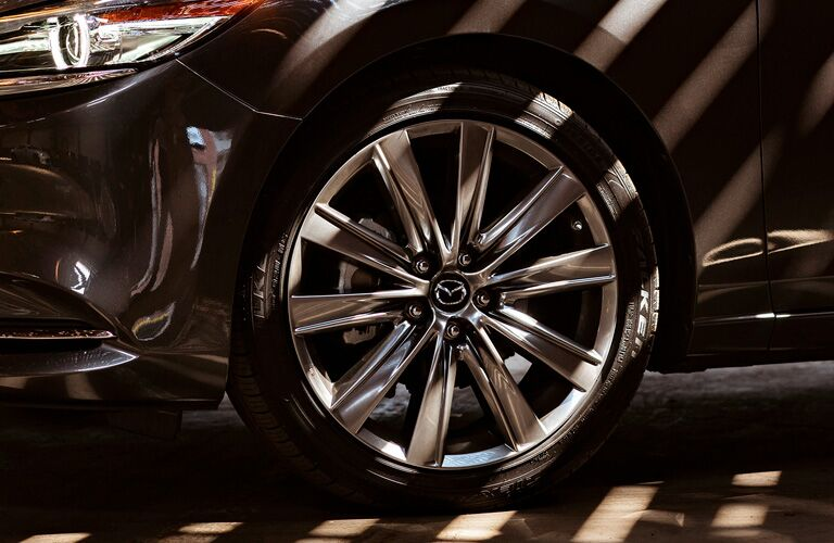 2020 Mazda6 front wheel