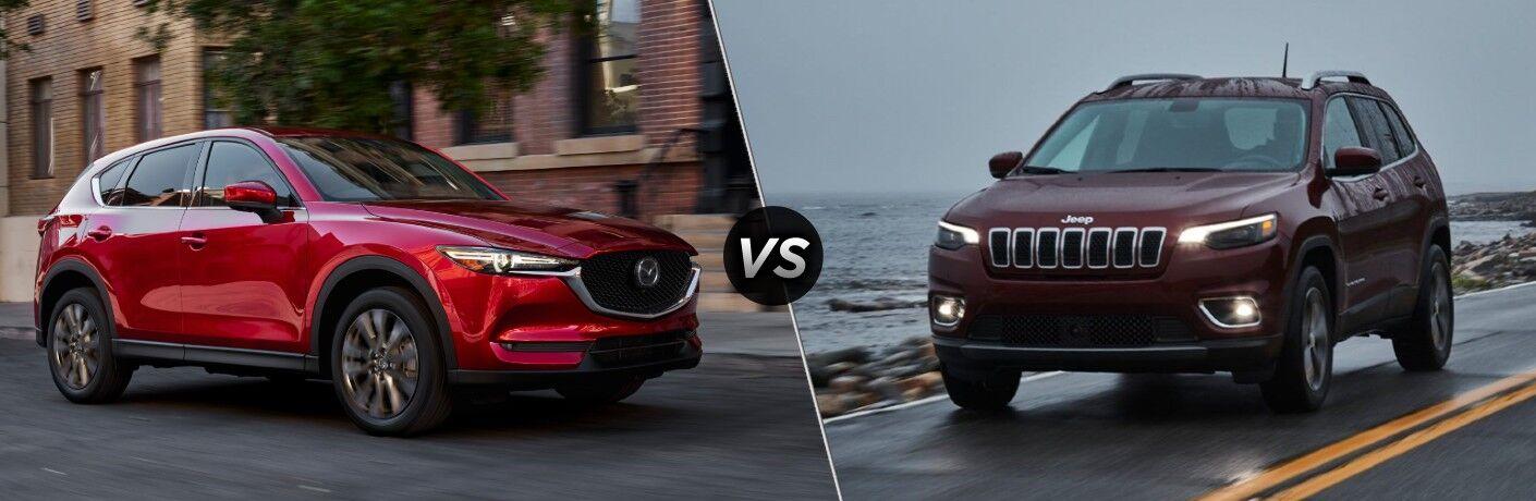 2021 Mazda CX-5 VS 2021 Jeep Cherokee