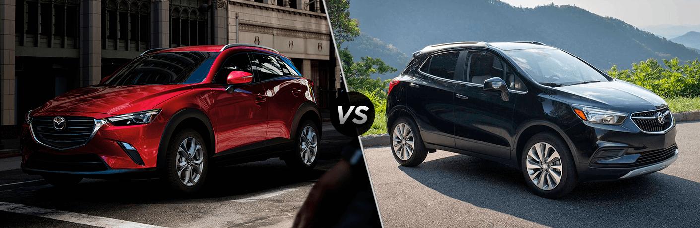 2021 Mazda CX-3 vs 2021 Buick Encore