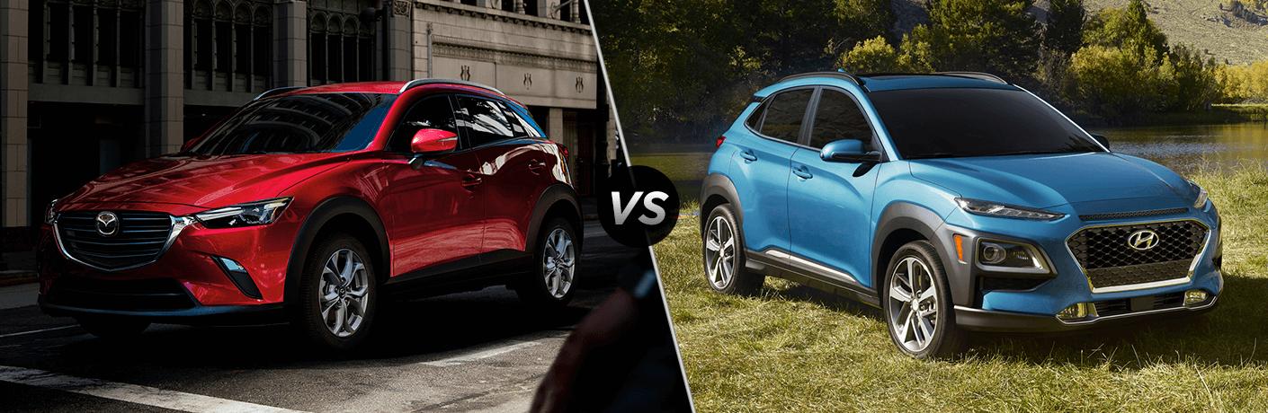 2021 Mazda CX-3 vs 2021 Hyundai Kona