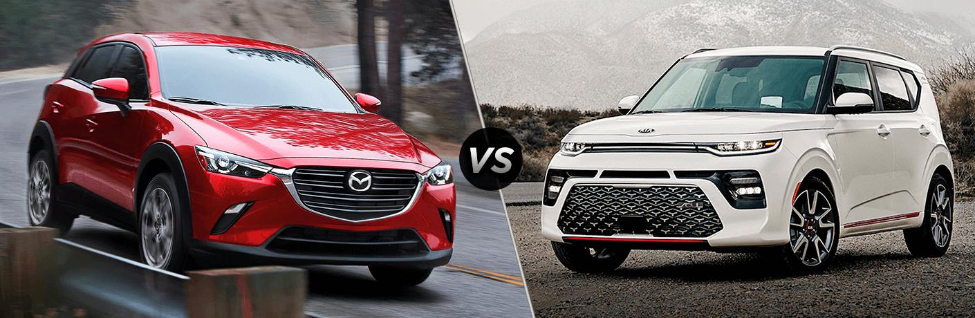 2021 Mazda CX-3 vs 2021 Kia Soul