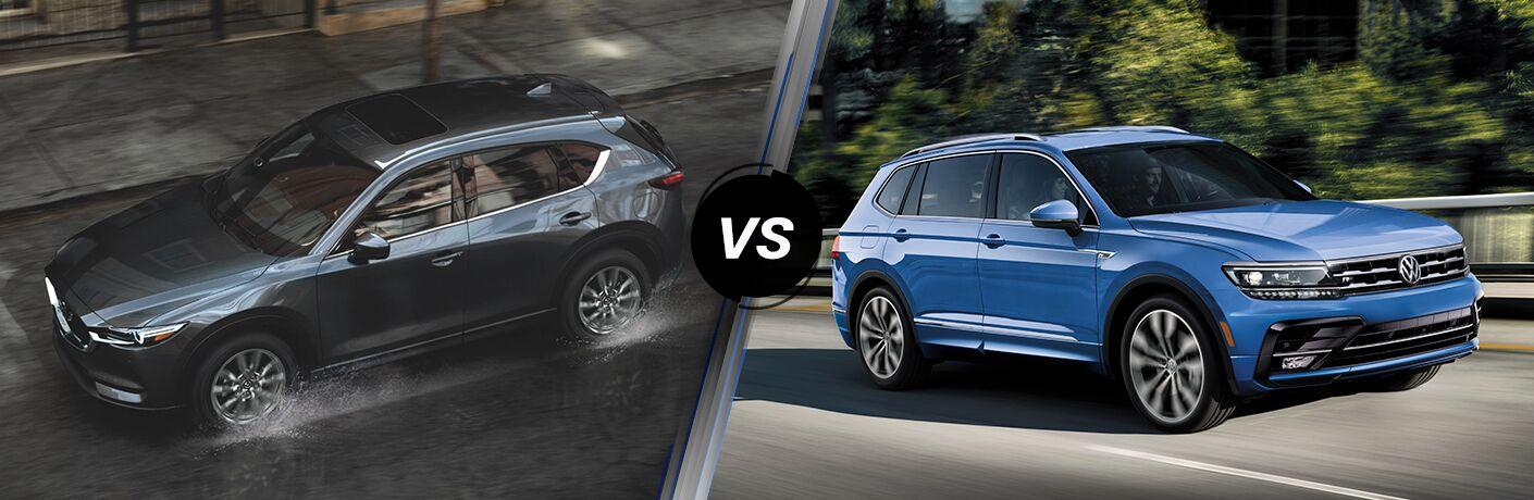 2021 Mazda CX-5 vs 2021 VW Tiguan