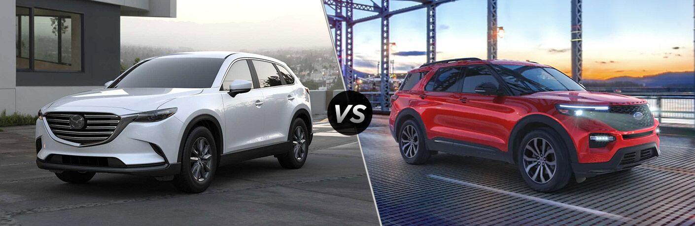 2021 Mazda CX-9 vs 2021 Ford Explorer